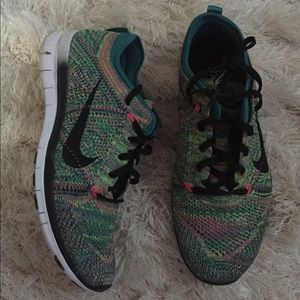 Nike Knit Fit Sneakers.  Size 7.5